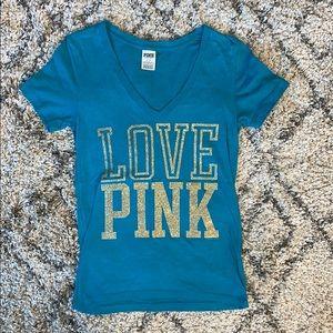 Victoria's Secret PINK shirt v-neck small